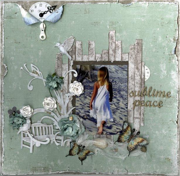 Sublime Peace  ~ C'est Magnifique Kit August ~ by Jan @ Dusty Attic