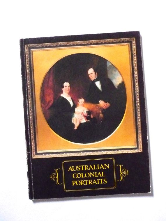 Vintage Book of Australian Colonial Prints by Eve Buscombe