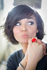 Peachy 1000 Ideas About Short Hairstyles With Bangs On Pinterest Short Short Hairstyles For Black Women Fulllsitofus