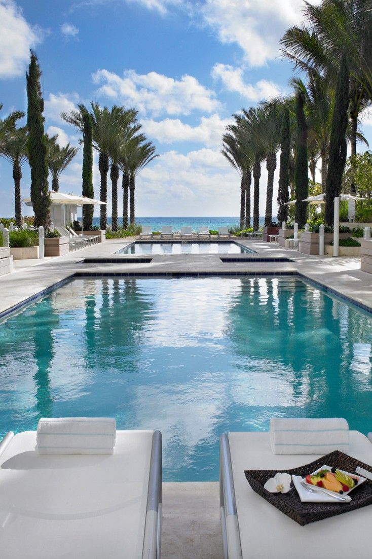 Cool off on a hot summer day with a dip in the hotel's pool. #Jetsetter Grand Beach Hotel Surfside (Miami, Florida)