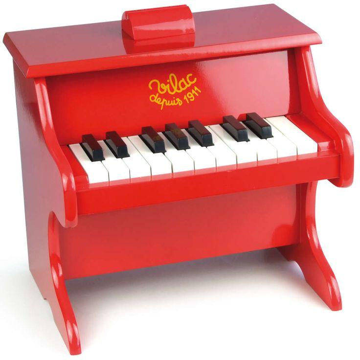 vilac piano rød