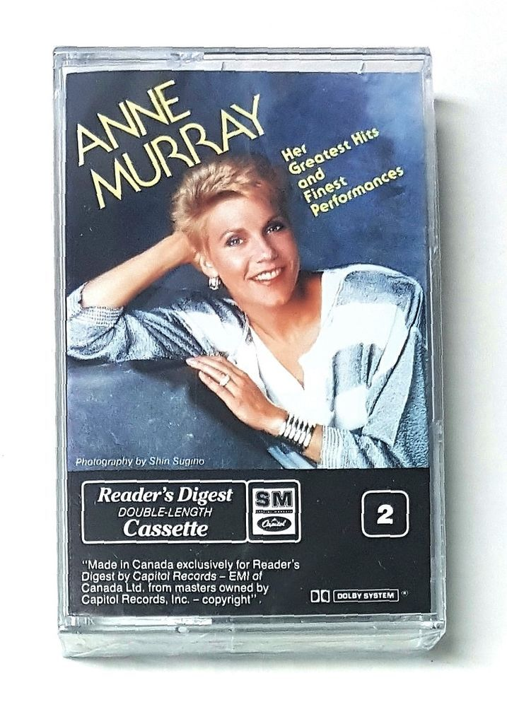 Anne Murray Her Greatest Hits and Finest Performances Audio Music Cassette Tape | eBay