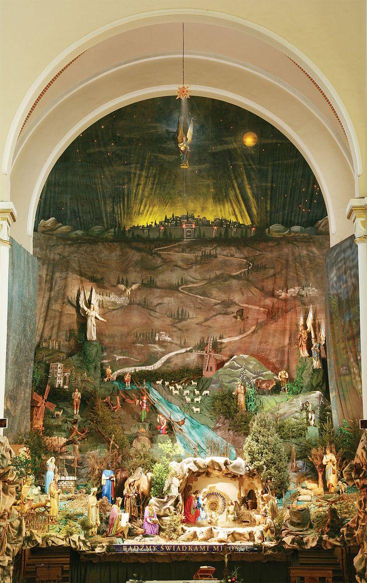 Crib in Panewniki 2009 b - Szopka w Panewnikach – Wikipedia, wolna encyklopedia