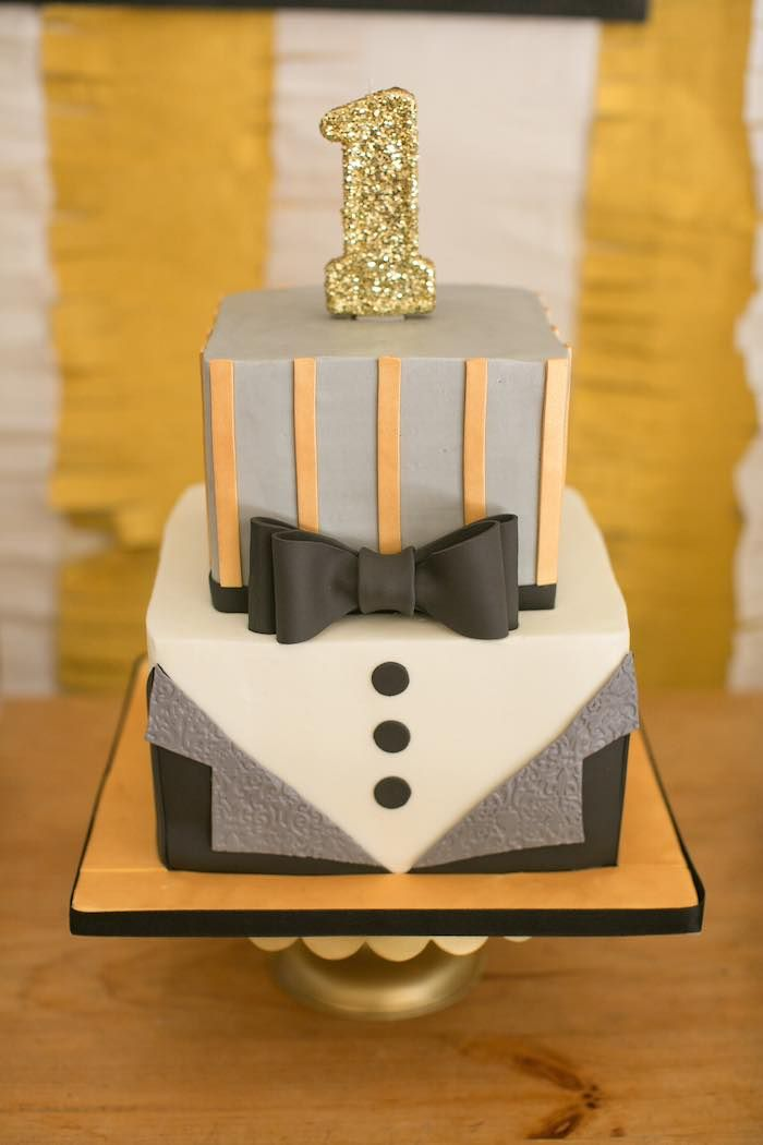 Mr. ONEderful Tuxedo Themed 1st Birthday Party