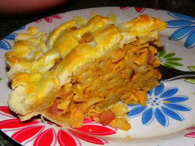 Decadant Mac & Cheese Pi(e) for Pi Day