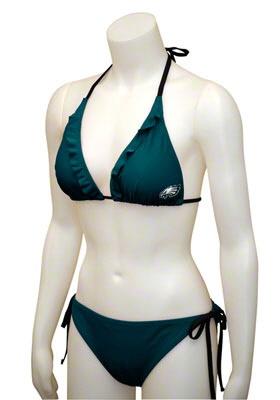 #Eagles Ruffled Bikini. $49.99