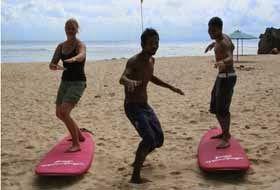 Bali Surf Guide:  Bali Surf Lessons    Want to stand upright on the...