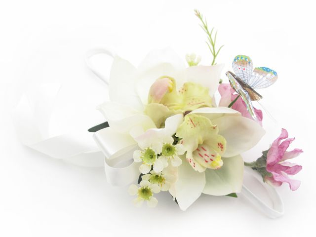 Wristlet by Loveflowers. Find your perfect wedding flowers at www.loveflowers.com.au
