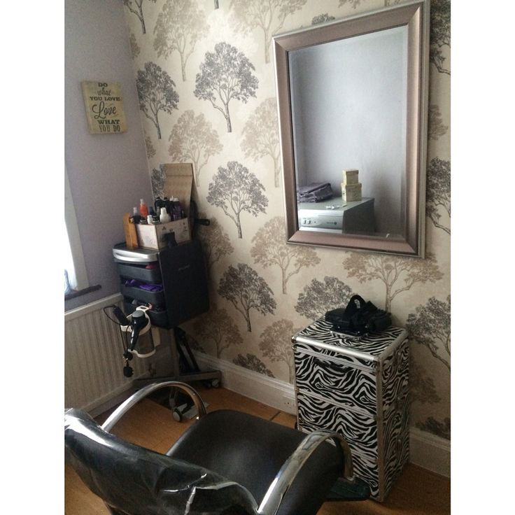 this is my finshed home salon :)