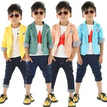 2016 spring and autumn kids blazers child handsome suit baby boys blazer outerwear kids boys blazer 3-c //Price: $US $11.50 & FREE Shipping //     #beauty