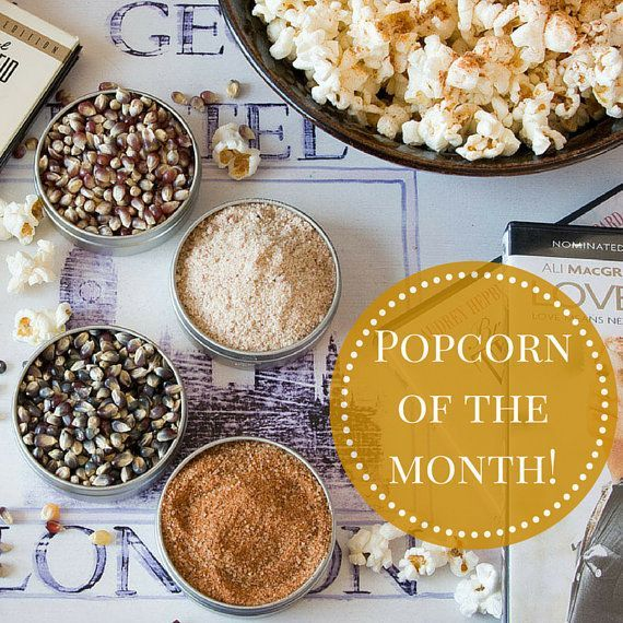 Struggling to find the perfect gift for him? Our Gourmet Popcorn of the Month Club makes an unusual Christmas gift that is both tasty and fun. Perfect for movie lovers, each gift set come with enough popcorn to share - or enjoy all on your own - and inclu