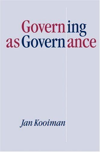 Governing as Governance 1st Edition by Kooiman, Jan published by Sage Publications Ltd http://www.newlimitededition.com/governing-as-governance-1st-edition-by-kooiman-jan-published-by-sage-publications-ltd/ Brand New. Will be shipped from US.
