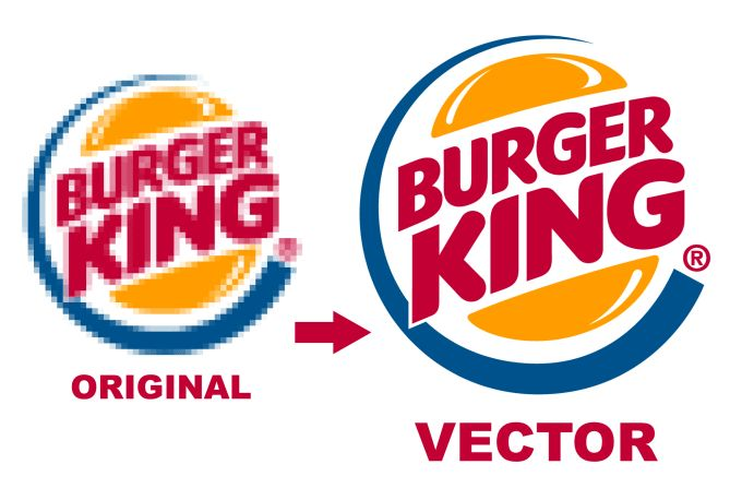 I Can Manually Trace Your Logo Or Graphic To Vector In 24 Hours Vector Vector Converter Vector Images