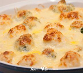 Broccoli en bloemkool met kaassaus - Keuken♥Liefde