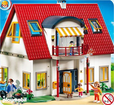 1000 images about casas playmobil on pinterest toys r for Casa moderna 4279