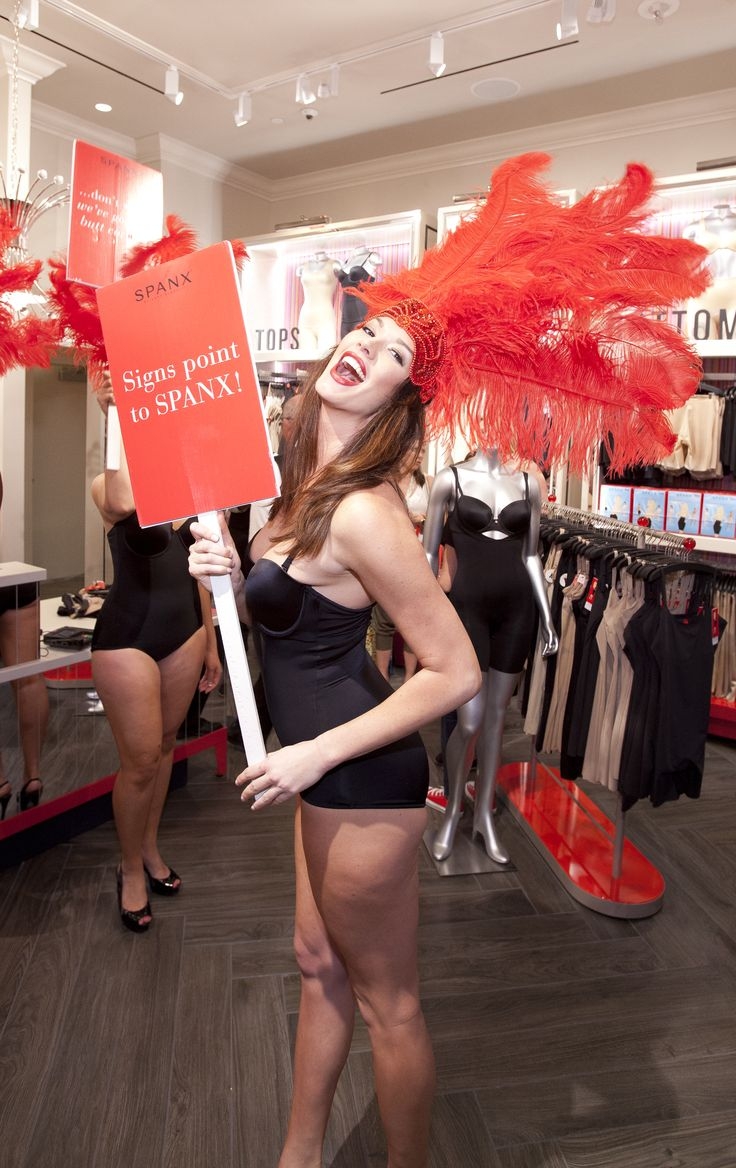 Showgirls, Sin City and Spanx! #Vegas celebrated it's first Spanx store with a Jiggle-Free Jubilee! #SpanxOpens