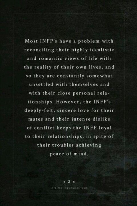 Infp dating intp