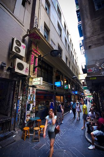 I love wandering the laneways of Melbourne. Great experience #bespokehunter #greatexperience