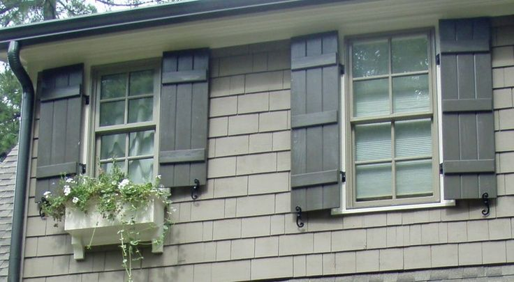 13 best images about shutters on pinterest board and - Different styles of exterior shutters ...