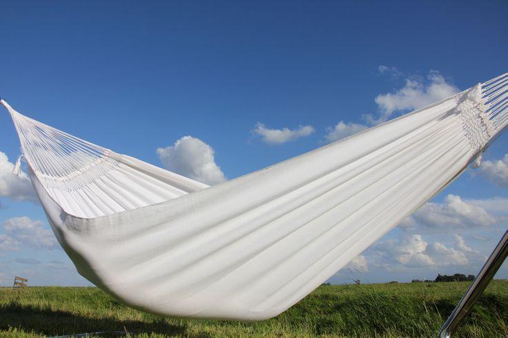 Mooie witte hangmat uit de Tiburon collectie