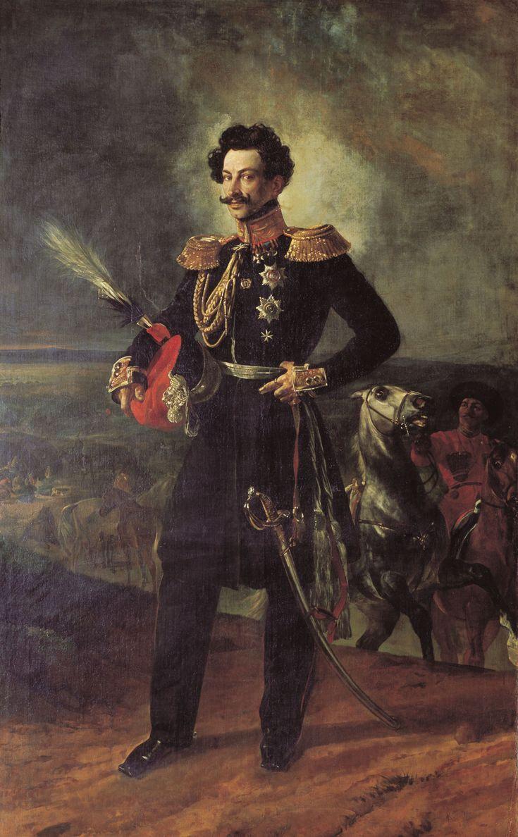 Портрет генерал-адьютанта графа Василия Алексеевича Перовского, 1837. Холст, масло. 247 х 155 см. ГТГ.