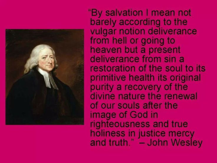 Justice and mercy according to john wesley