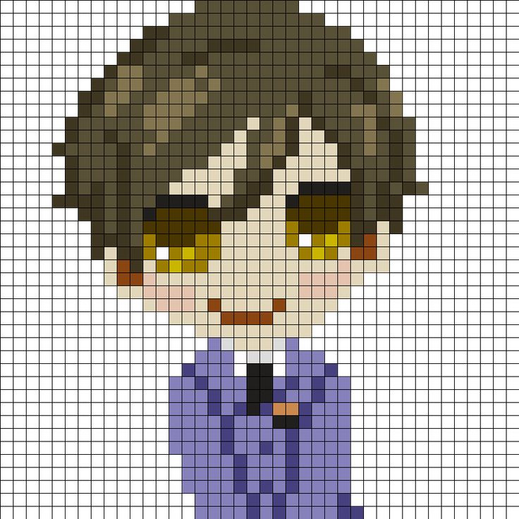 227 best images about anime perler beads on Pinterest ...