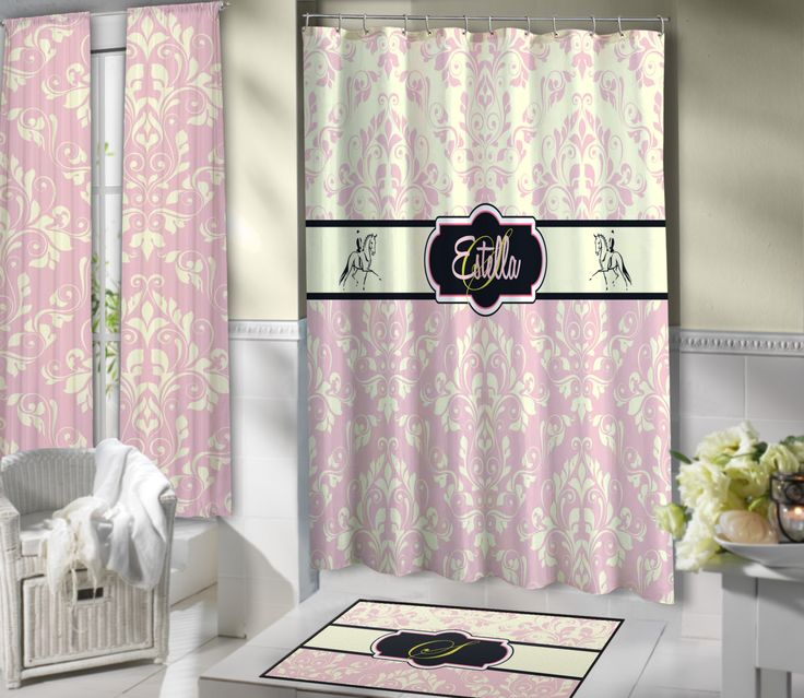 Elegant Shower Curtain  Custom Bedding & Home Decor  Pinterest Amazing Elegant Bathroom Shower Curtains 2018