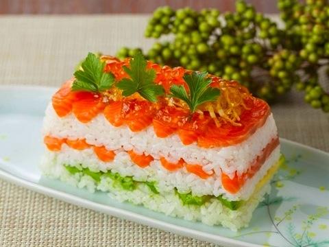 ミルフィーユ押し寿司