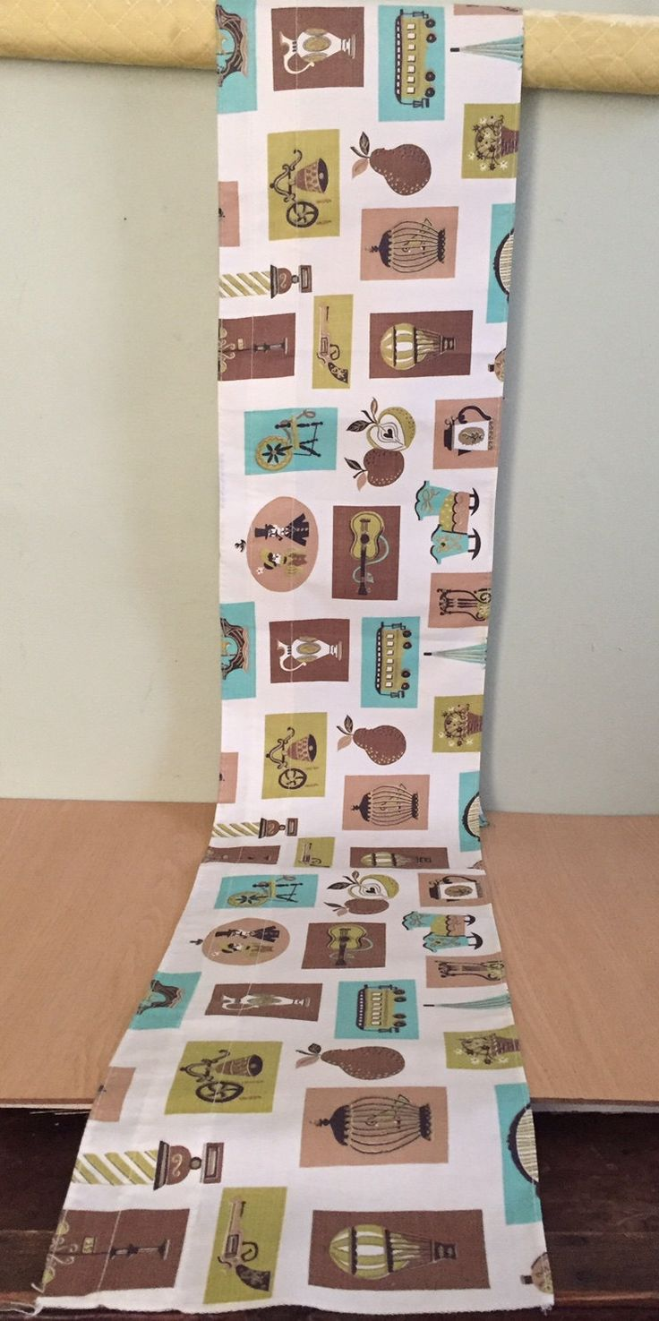 Vintage wooden music stand book stand by vintagearcheology on etsy - Vintage Kitsch Retro Fabric Wide Curtain Valance Apple Guitar Gun Cradle Coffee Pot Cutter By Graystonevintage On Etsy