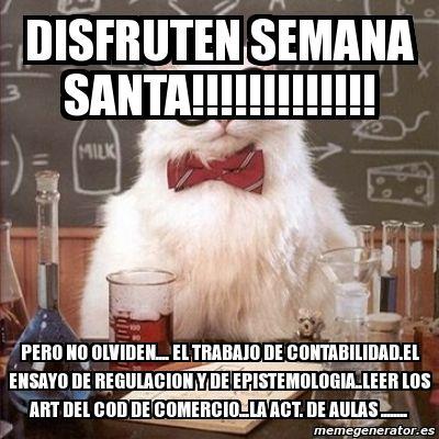 El Rincon del Humor: Feliz Semana Santa!!!