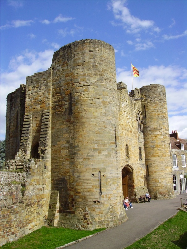 Tonbridge Castle, Kent, dates from William the Conqueror - home of Ralph 1st Earl de Stafford and his descendents