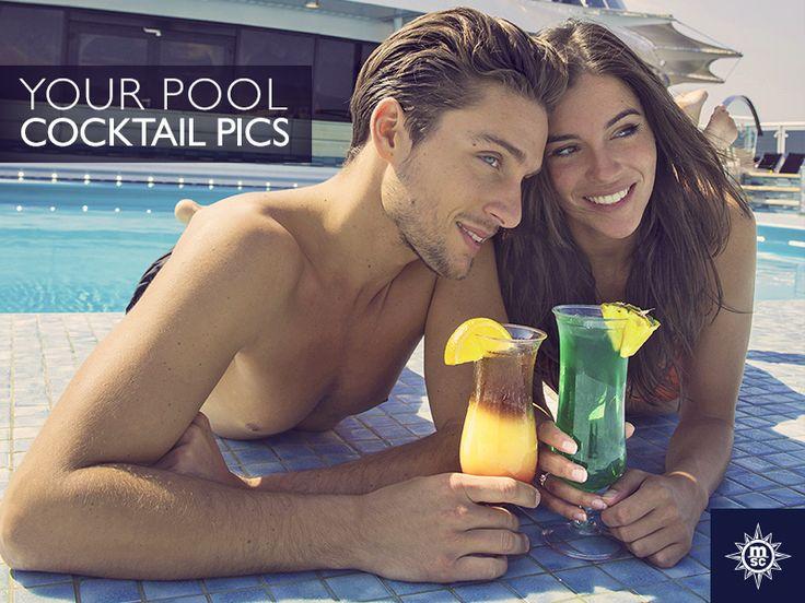 Wat je drankkeuze ook is, frisse drankjes bij het zwembad zijn een must op vakantie! Deel je beste cocktailfoto's met ons! #MSCCruises