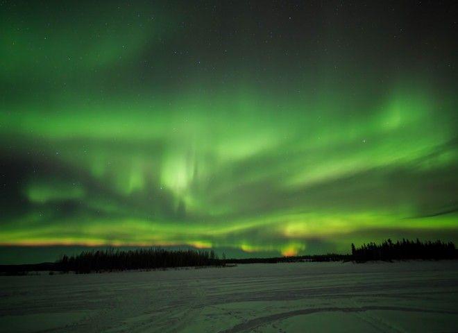 Northern Lights in Tok,Alaska,USA