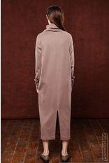 Платье из джерси с абстракцией - J.Perekriostova