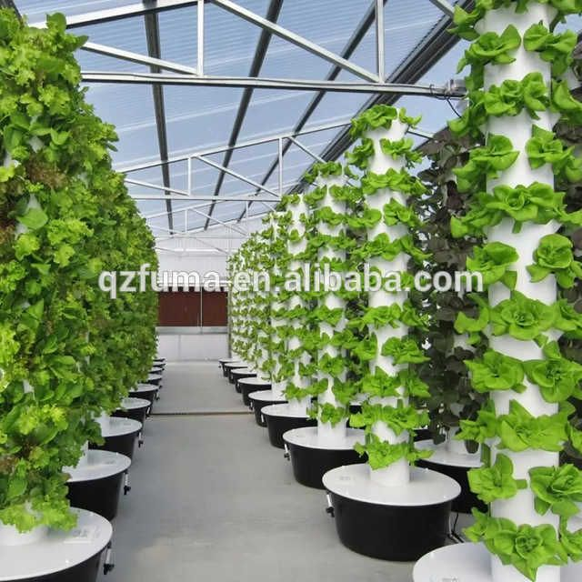 Source Smart Low Cost Greenhouse Vertical Tower Garden