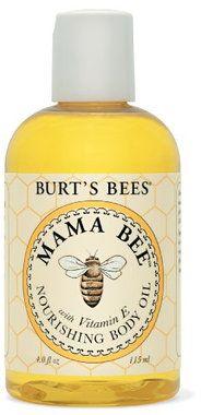 Burt's Bees Mama Bee - Olio Corpo con Vitamina E, 115 ml   Ecco Verde