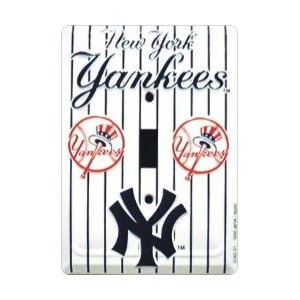 NY Yankees Light Switch Plate Cover Need This For Liam When He Has His