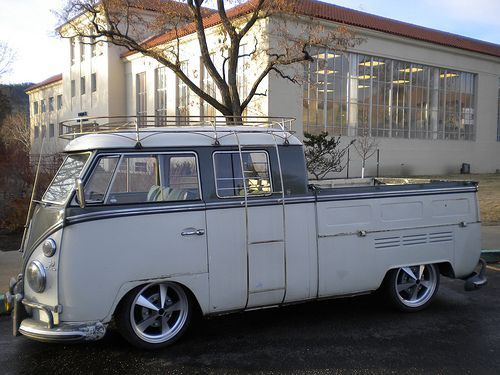 1966 VW Double Cab ◉ re-pinned by http://www.waterfront-properties.com/