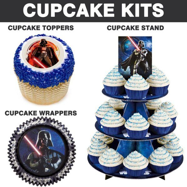 Check out Star Wars Cupcake Kit - Reduced Individualized Accessories and Decorations from Wholesale Party Supplies