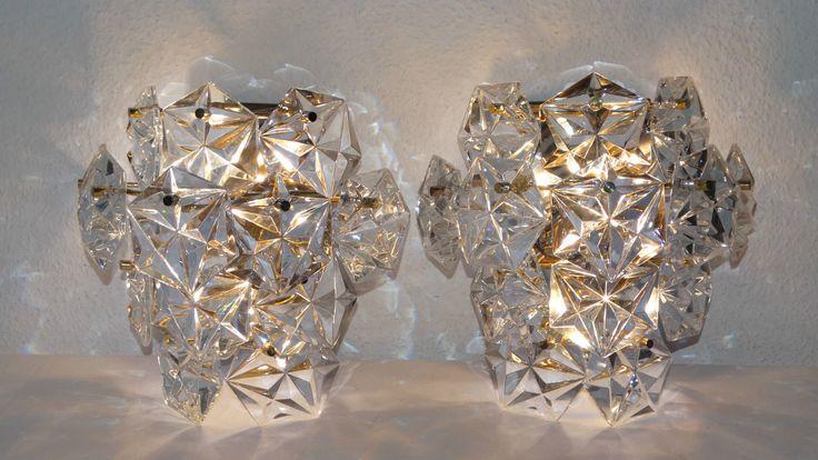 ZWEI Original Kinkeldey Wandlampe XXL Wandleuchte Kristall Lampe