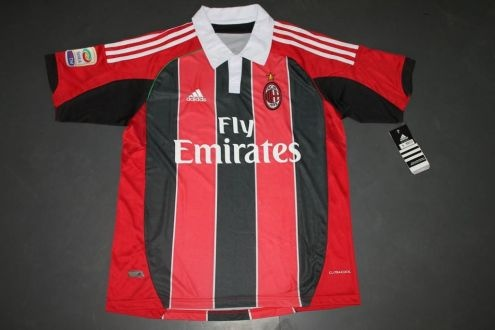 New Ac Milan Jersey (2012-2013)