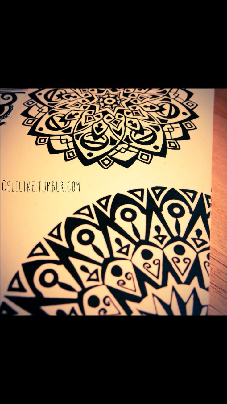 1000 Images About Henna Zentangle Mandala Art On Pinterest