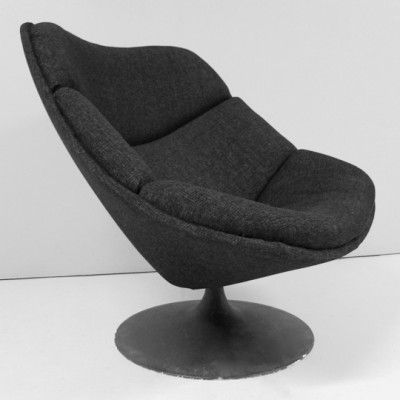 F557 Lounge Chair By Pierre Paulin For Artifort, 1961