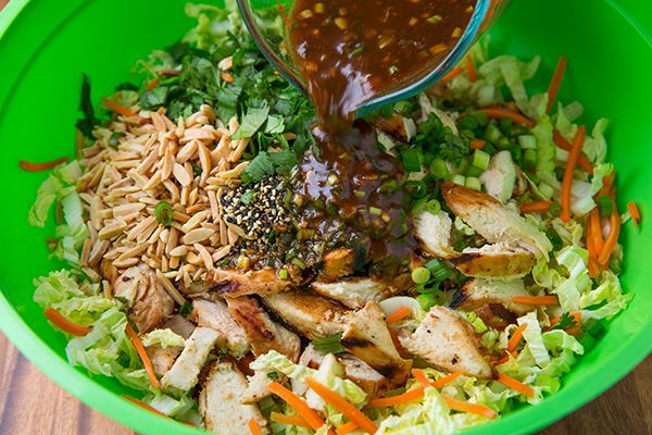 Grilled Ginger Sesame Chicken Chopped Salad   Cooking Classy