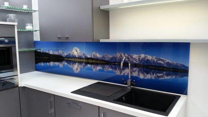 Print On Glass Backsplash For Kitchen Custom Design Kitchen Backsplash Photos Glass Splashback Splashback