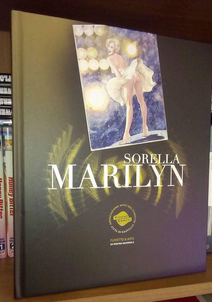 Marilyn Monroe catalogo SORELLA MARILYN Tiferno Comics 2014 + brochure omaggio