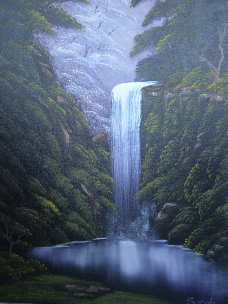 Arts And Crafts Style Waterfall