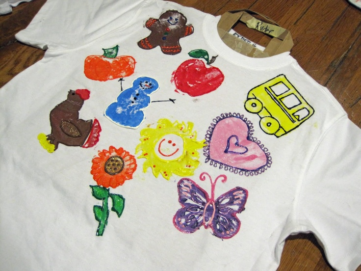 Images Of Shirts With Puff Paint