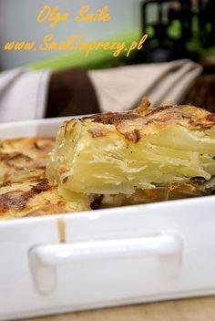 Zapiekanka ziemniaczana - przepis | Kulinarne przepisy Olgi Smile